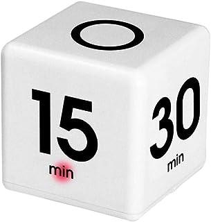 Temporizador Digital, Temporizador de Cubos Temporizador de Cocina Creativo Temporizador preestablecido para 15/20/30/60 Minuto - Gestión del Tiempo, Aprendizaje, Deporte, reunión