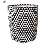 mAjglgE - Bolsa de lavandería plegable impermeable para el hogar, bolsa de almacenamiento de juguetes, organizador de cubo - 6# 2#