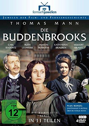 Die Buddenbrooks - Die komplette Serie in 11 Teilen (Fernsehjuwelen) [4 DVDs] [Alemania]
