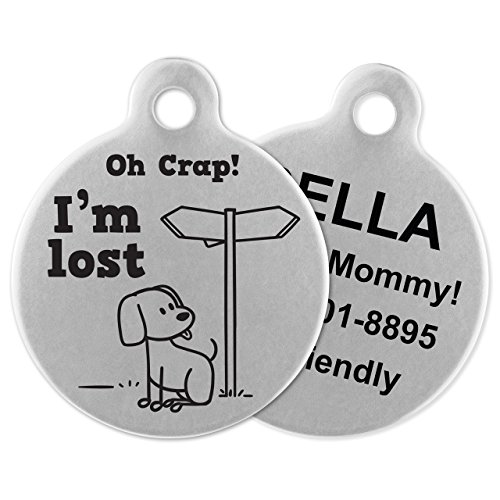 If It Barks Engraved Pet ID Tag for Dogs
