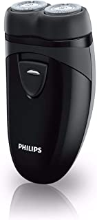 Philips Electric Shaver Plus, for Cordless use, with Travel Pouch, Black, PQ208/17