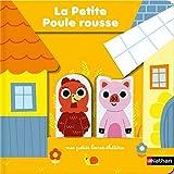 Petite poule rousse - livre théâtre avec marionnettes à doigts pour donner vie à l'histoire et aux personnages - Dès 18 mois