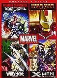 Marvel Animés - Coffret: Iron Man + Wolverine + X-Men + Avengers Confidential [Francia] [DVD]