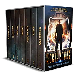 Featured Sci-fi : Rogue Stars 7 Novels of Space Exploration and Adventure