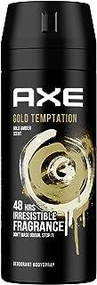 AXE Gold Temptation Deodorant and Body Spray for Men, 150 ml