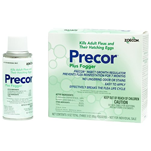 Precor Plus IGR Fogger Flea Control 6(3 oz.) cans