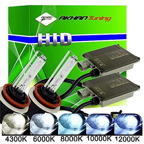 akhan Digital 9–32 V 35 W Canbus Xenon Kit Kit H9 12000 K avec brûleur Xénon HID ballast, lampe et matériel de montage sans erreur et sans scintillement