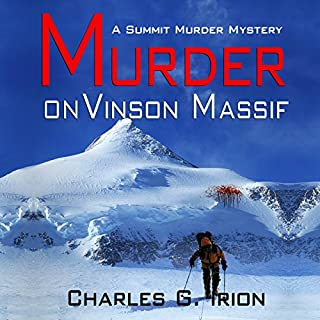 Murder on Vinson Massif audiobook cover art