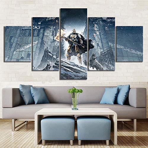 TDDL Leinwanddrucke Destiny 2 Spiel Poster HD Wandmalerei Leinwand Kunst für Home Decor