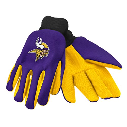 Forever Collectibles 74235 NFL Minnesota Vikings Colored Palm Glove