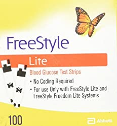 Image of FreeStyle Lite Test strips,...: Bestviewsreviews