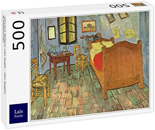 Lais Puzzle Vincent Willem Van Gogh - La Camera da Letto di Van Gogh 500 Pezzi