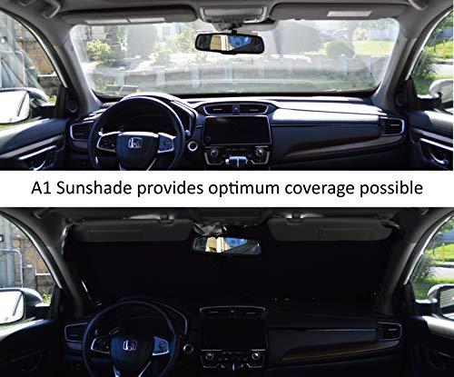 240T-Fabric A1+ Car Windshield Sunshade for Trucks SUV Mini Van Visor Front Window Auto Vehicle Shield Reflector Blocking Screen Cover -M