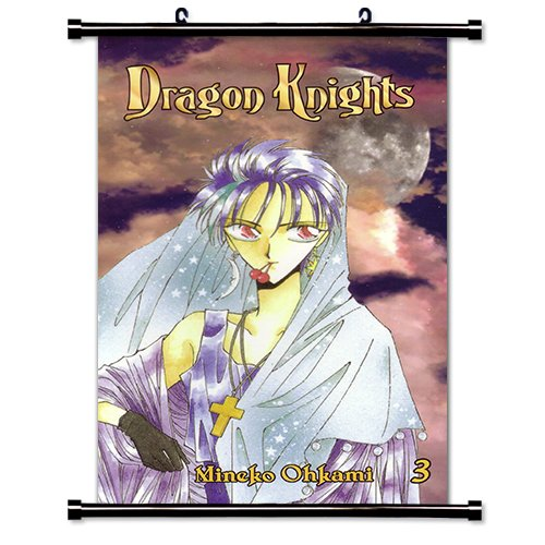 Dragon Knights Anime Fabric Wall Scroll Poster (32 x 53) Inches