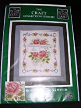 Craft Collection Ltd. Counted Cross Stitch Kit Rose Wedding Sampler #76432