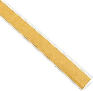 Pemko SiliconSeal Adhesive-Backed Fire/Smoke Gasketing, White Silicone, 0.4375