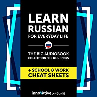 Learn Russian for Everyday Life: The Big Audiobook Collection for Beginners cover art