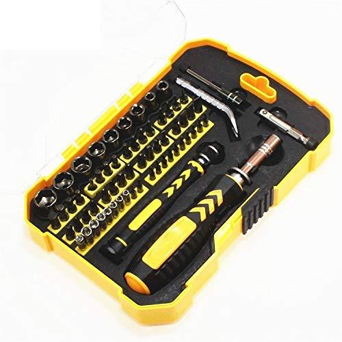 HUXIZ Schraubendreher-Reparatur-Werkzeug-Set, Steckschlüssel-Set, Haushalts-Schraubendreher-Set, magnetischer Schraubendreher-Satz für den Haushalt