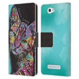 Official Dean Russo Most Days Cats 3 Leather Book Wallet