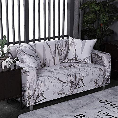 ASCV Funda de sofá Antideslizante elástica Todo Incluido Funda de sofá elástica Fundas de sofá para Sala de Estar decoración del hogar A2 1 Plaza