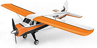 BLACKOBE RC Airplane, EPS Material Remote Control Airplane Xk Brushless Motor 3d6g Rc Airplane, Dhc-2 A600 4ch 2.4g 6 Axis Glider Easy to Control, Steady Flig, Gift for Kids, Beginners, Adult