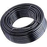 Suinga - Tubería polietileno agricola, 40 mm x 25 m, color negro. Presión máxima 4 bar.
