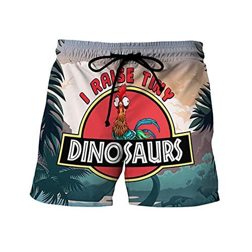 Mikelabo - Pantalones cortos de verano para hombre, pantalones cortos deportivos con cordón, cintura elástica, 1, 4X-Large