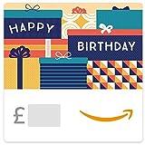 Birthday Packages -  Amazon.co.uk eGift Voucher