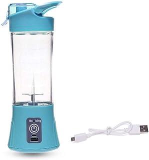 N/ A 400Ml Portable Blender Juicer Cup USB Rechargeable Électrique Automatique Bleu Petits Appareils De Cuisine