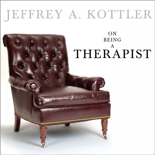 On Being a Therapist audiobook cover art