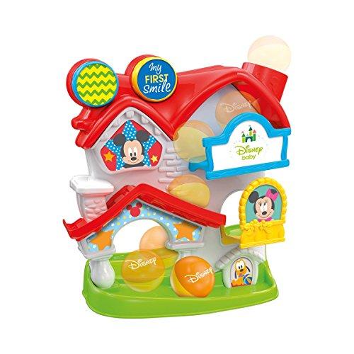 Clementoni - Baby Mickey Casa de Actividades, Multicolor (17204)