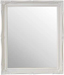 FRAMES BY POST Large White Mirror Classic Ornate Style 26