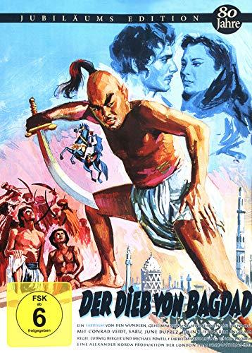 Der Dieb von Bagdad - Mediabook Cover B - limitiert auf 444 Stück (+ Booklet) [Blu-ray]