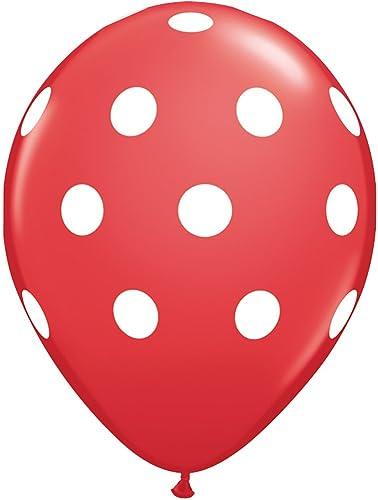 mejor calidad mejor precio LA Balloons - Globos Globos Globos de látex, Color rojo, 28 cm  punto de venta