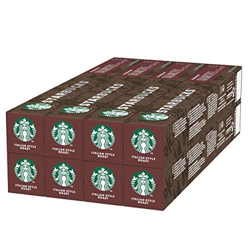 Starbucks Starbucks Italian Roast Di Nespresso Caffè Espresso, A Tostatura Scura, 8 Astucci Da 10 Capsule (80 Capsule) - 448 g
