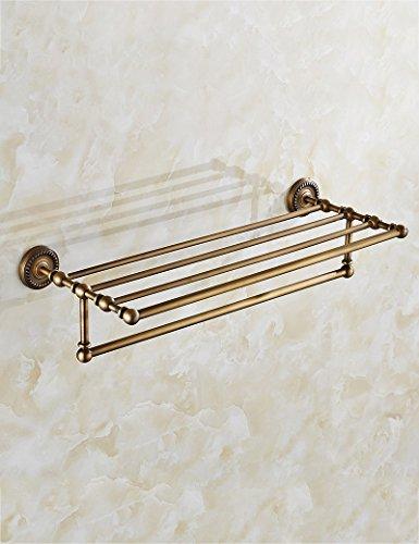 Extrem feste Duschregal European-style Handtuchhalter Alle Bronze Spiegel Frontrahmen Badezimmer Racks Badezimmer Hängestange Bad Hardware Anhänger Qualität sichern