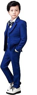 Boys Suits 5 Piece Set Slim Fit Royal Blue Boy Suit