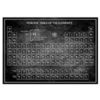 Poster Prints Modular Pictures Nordic Chemistry Periodic Table Wall Art Canvas Painting Home For Study Room Decoration 60x90cm Unframed