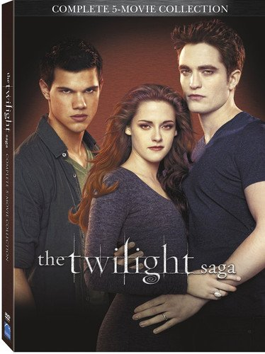 Twilight Saga 5 Movie Collection...