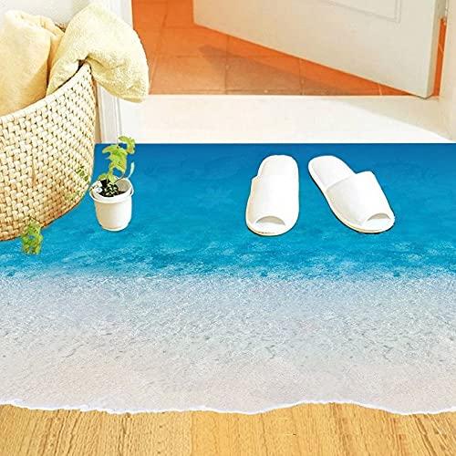Pegatinas de pared para suelo de playa decoración del hogar living r