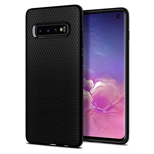 Spigen Cover Liquid Air Compatibile con Samsung Galaxy S10 - Nero