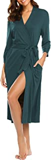 BLUETIME Bathrobe Sleepwear Loungewear Lightweight