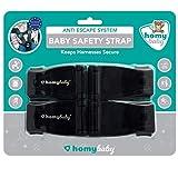 HOMYBABY Seguridad Bebes | Hebilla para Cinturon de Seguridad | Evita que el...
