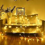 Xiaoyue 4 Meter 40 Corda USB LED Lightss 220V Decorazione della Festa Nuziale luci Ghirlanda, Tenda Stringa della Luce for Il Natale Home Cucina TV Ice Bar Decoration lalay (Color : A)