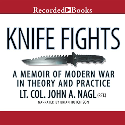 Knife Fights audiobook cover art
