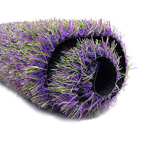 ProGoal Artificial Grass Mat Lavender Rug