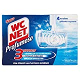 WC Net - 3Effect, Detergente per WC, Ocean Fresh - 136 g...