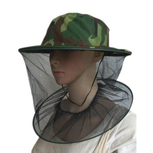SaySure - Camouflage Field Jungle Mesh Face Mask Cap Mosquito Bee Bug...