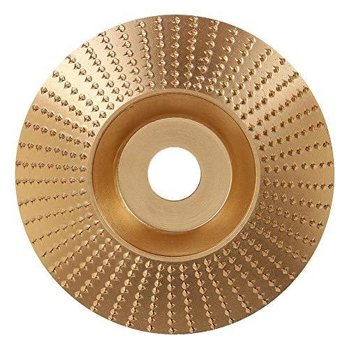 Starnearby slijpschijf, hoekslijpschijf, rotoraspel, voor haakse slijper, houtbewerking, slijpen, raspschijf, hout, kunststof, houtsnijder, hout, houtfrees, slijpschijf goud