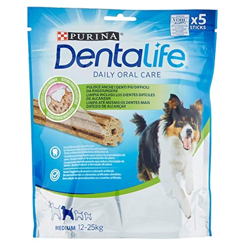 Purina Dentalife pour Chiens de Taille Moyenne 115 g